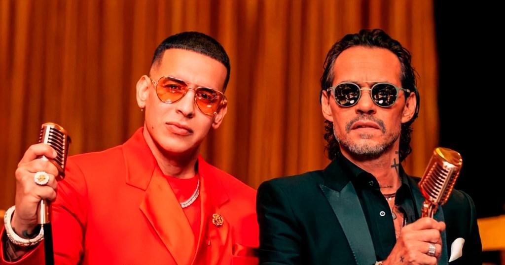 Daddy Yankee Marc Anthony