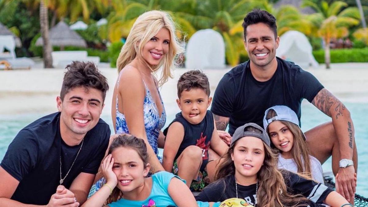 Coté López Familia (Fuente Instagram)