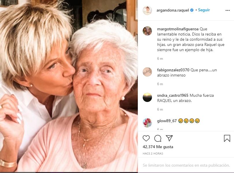 Raquel Argandoña Instagram
