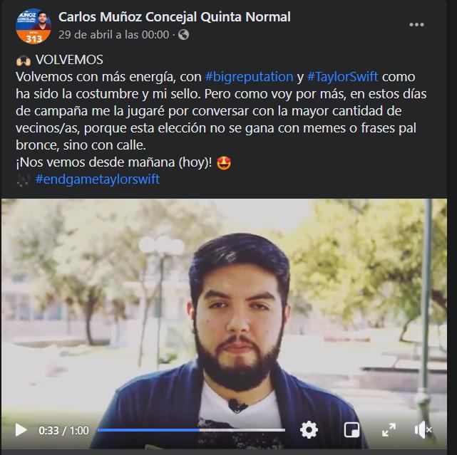 Carlos Muñoz - Concejal