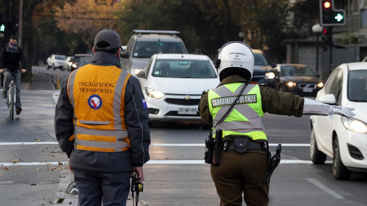 Restricción Vehicular (fuente Agencia Uno)