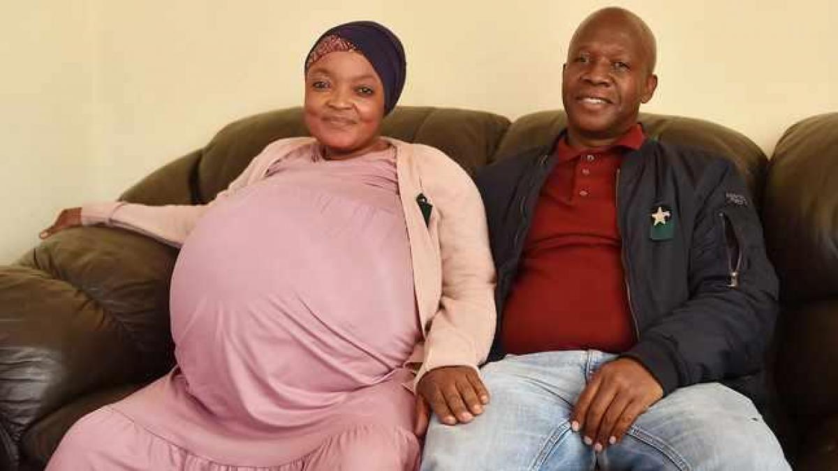 Mujer Sudafricana Bebés